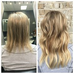 rows of natural beaded row extensions by Hair Extensions Before And After, Hair Extensions For Short Hair, Weft Hair Extensions, Dark Blonde Hair, Layered Hair, Diy Hairstyles, Hair Goals, New Hair, Hair Inspiration