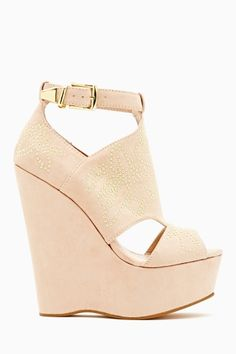Laney Platform Wedge by #BetseyJohnson