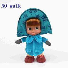 Russian Masha -Bear plush princess elsa anna Dolls- 1pcs