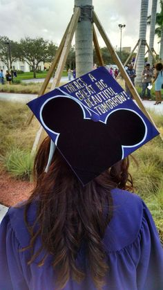 For all the people that hate on Carousel of Progress   Great big beautiful tomorrow graduation cap