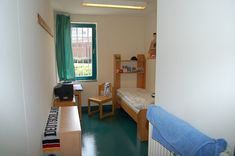 Jail Cell, Prison Cell, May House, Solitary Confinement, Boarding House, Solid Doors, Safety Glass, Living Spaces, Layout