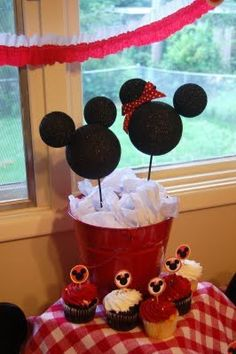Mickey Mouse party!  - Continued!
