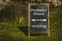 We pop this little sign at the bottom of the road to make it easier for your guests to find us!