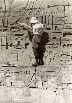 *'Egyptian monuments, 1927'. Photograph from the Dutch National Archives