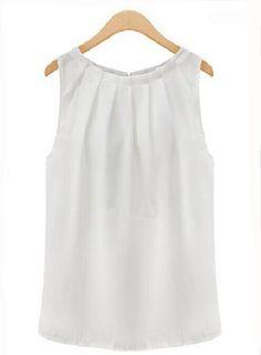 Blusa de gasa blanca 3,26 €