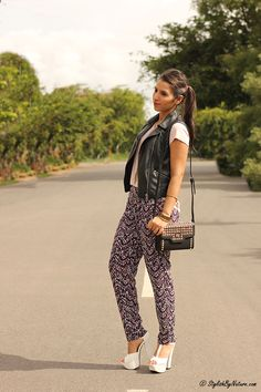 Stylish By Nature | India Fashion Style blog | Beauty | Street Style | Trends | Food | Travel: Fashion Trend - Summer Printed Pants