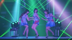 渋谷駅前街頭ビジョンで放映される「Perfume 10th Anniversary ティザームービー」のワンシーン。