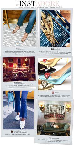 Instadore: sapatos e sofás - e talheres dourados • Living Gazette