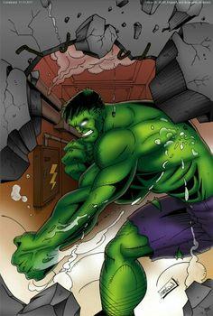 #Hulk #Fan #Art. (The Hulk Colored) By:CliffEngland. ÅWESOMENESS!!!™ ÅÅÅ+