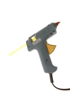 Using a hot-glue gun to for flies