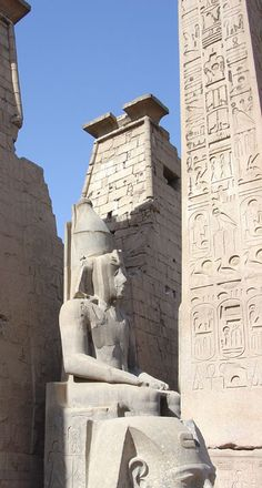 Temple at Luxor, Egypt  -  Travel Photos by Galen R Frysinger, Sheboygan, Wisconsin
