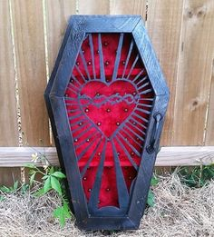 Gothic coffin shadow box By lifeafterdeath designs