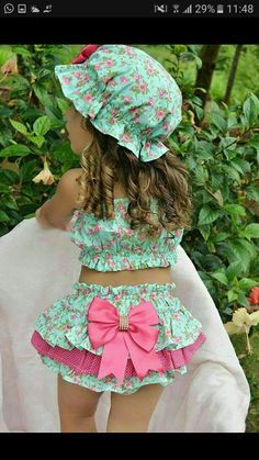 Diy Crafts - Ideas sewing patterns for kids dress barbie clothes for 2019 dress clothes sewing Little Girl Fashion, Kids Fashion, Fashion Clothes, Toddler Dress, Toddler Girl, Little Girl Dresses, Girls Dresses, Baby Outfits, Kids Outfits