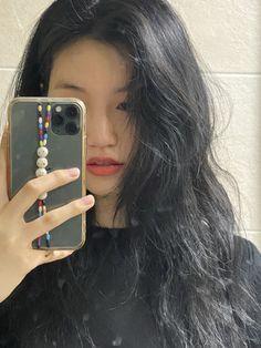 Haircuts For Long Hair, Cute Hairstyles, Cute Girl Face, Cool Girl, Korean Picture, Summer Body Goals, Kim Doyeon, Ulzzang Korean Girl, Aesthetic People