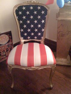 """Uncle Sam chair"" by Muffy1966 on Flickr - Uncle Sam Chair"