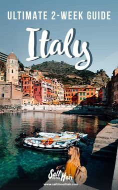 Italy Travel Guide: The Ultimate Italy Travel Itinerary italy traveltips travel guide route italytravel italia italytrip Travel Route, Places To Travel, Travel Destinations, Vacation Places, Holiday Destinations, Time Travel, Travel Photographie, Italy Tourism, Italy Travel Tips