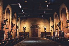 The Great Hall at Hogwarts by cgines, via Flickr