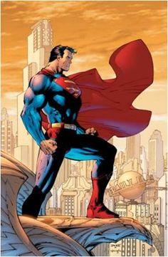 Seminary blog Superman Comic, Jim Lee Superman, Supergirl Superman, Comic Superheroes, Hulk Comic, Comic Book Characters, Comic Books Art, Disney Characters, Book Art
