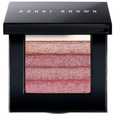 Bobbi Brown Rose Shimmer Brick Compact ($48) ❤ liked on Polyvore featuring beauty products, makeup, cheek makeup, blush, rose and bobbi brown cosmetics