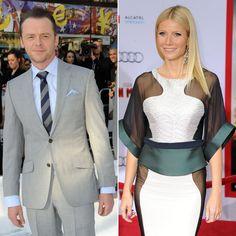 Pin for Later: Diese Stars sind Pateneltern von prominenten Kids!  Apple, die Tochter von Gwyneth Paltrow und Chris Martin, hat den britischen Schauspieler Simon Pegg an die Seite gestellt bekommen.