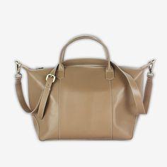 Borcetta Large in Buff - Ni QUA - Leather Bag Manufacturer Online Store Manila Philippines Manila Philippines, Custom Bags, Zipper Bags, Leather Bag, Monogram, Accessories, Monograms, Jewelry Accessories
