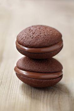 Recette de Whoopies au nutella : la recette facile