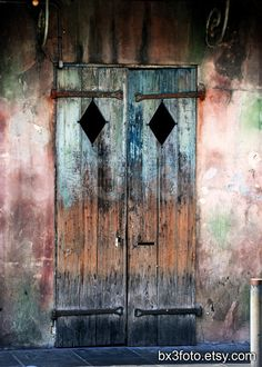 Mardi Gras SALE: Preservation Hall door - St. Peter St., New Orleans photo OR poster on Etsy, $11.25