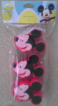 3 Mickey Mouse Treat Containers for Easter Basket >>> You can get more details by clicking on the image.