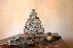 Christmas decoration  butterflytree silver от Koelnschaetze
