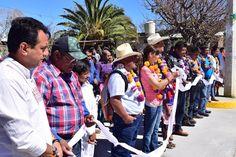 Procura Benjamín Robles el progreso de los pueblos zapotecos de Oaxaca
