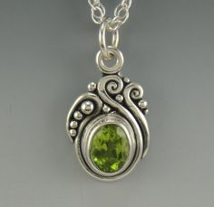 Hey, I found this really awesome Etsy listing at https://www.etsy.com/listing/237438003/sterling-silver-peridot-pendant-one-of-a