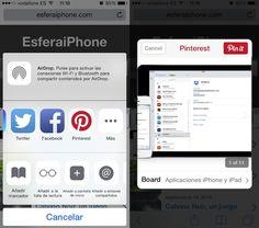 Desde ayer por la tarde están llegando las primeras actualizaciones de apps en la App Store para añadir funcionalidades de iOS 8. Una de ellas ha sido Pinterest, que se estrena mejorando su aspecto...