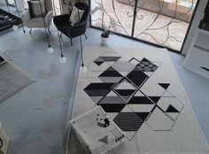Rug by Carolina Melis. Sardinian graphic designer.