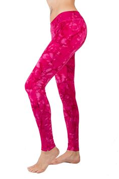 PINK SMOKEY LEGGINGS, for anywhere & anytime. Best quality cotton lycra for Dance, Yoga or simply perfectly casual chic!