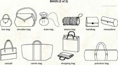 Different Bags Types 2