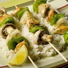 Marinated Chicken Kabobs - Allrecipes.com