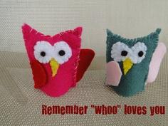 Too cute little felt finger puppets for kids to make.