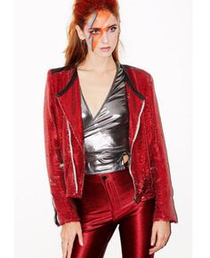 Chiara Ferragni as Ziggy Stardust - The Best Celebrity Halloween Costumes You'll Want to Copy - Photos