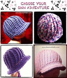 Crochet Choose Your Own Adventure..