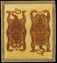 Pure Wool Tibetan Tiger Rugs: TigerTiger Carpet - Tibetan Tiger ...