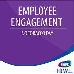Niojak HR Mall | NO Tobacco Day Employee Engagement Event Kit