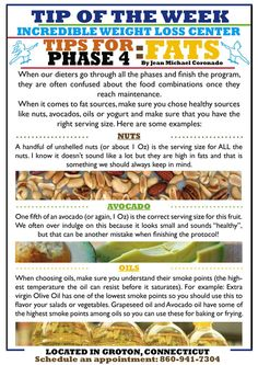 phase 4 fats Fats are not all bad for you! Find out how to have them in your maintenance phase (Ideal Protein's Phase Remember that the key is moderation, and not to mix Carbs with Fats together. fat loss diet the keys Diet Recipes, Cooking Recipes, Healthy Recipes, Protein Recipes, Atkins Recipes, Diet Meals, Healthy Snacks, Recipies, Ideal Protein Phase 3
