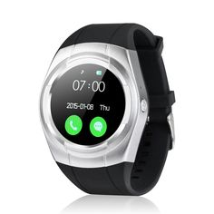 Bibai T6 Bluetooth Smart Watch  Clock Touch Screen Sports Mate For iphone 8/X  Xiaomi