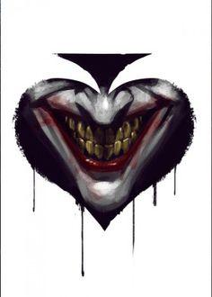 joker batman dark joke poker card