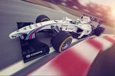 beautifull livery: Williams MARTINI Racing Mercedes FW36