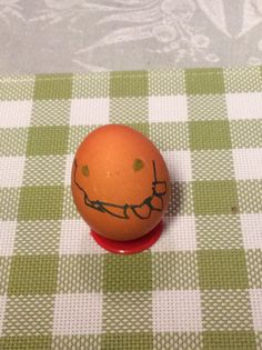 Easter egg, daughters painting