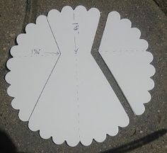 Keenan Kreations Scallop Circle Dress And Directions Card Making Tips Techniques