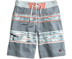 Sperry Top-Sider Hold the Foam Board Shorts