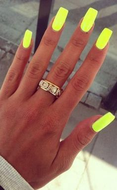 neon-long-square-nails