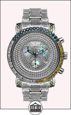 JOE RODEO 0119M2VDFWN - Reloj para hombres, correa de acero inoxidable  ✿ Relojes para hombre - (Lujo) ✿